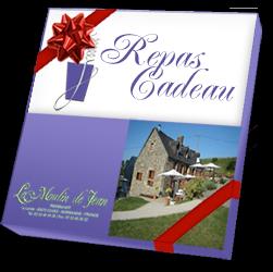 Offrir un chèque cadeau repas au restaurant le Moulin de Jean pour faire plaisir